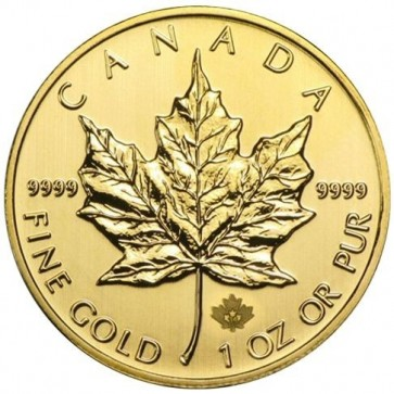 1 oz Canadian Gold Maple Leaf - Assorted Dates