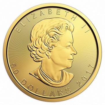 1/4 oz Canadian Gold Maple Leaf - Assorted Dates