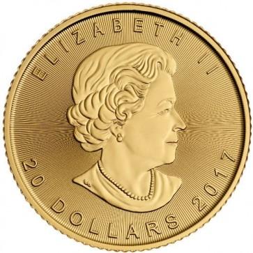1/2 oz Canadian Gold Maple Leaf