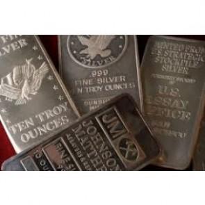 10 oz .999 Silver Bar