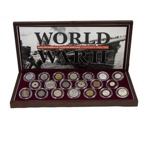 Signature Moments of the Second World War: A collection of 20 coins