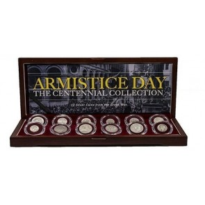 Armistice Day: The Great War Centennial Collection of 12 Silver Coins