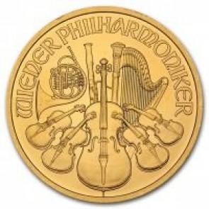 1 oz Austrian Gold Philharmonic -  Assorted Dates