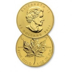 1/20 oz Canadian Gold Maple Leaf