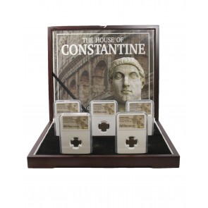 House of Constantine: A Collection of Five Slabbed Coins