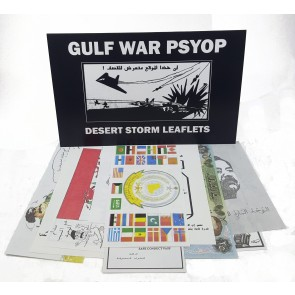 Gulf War Leaflets: Set of 10 Different