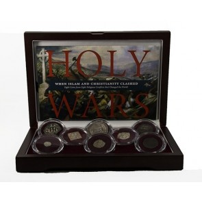Holy Wars Box: 8 Coins Highlighting Famous Battles Between Christians and Muslims