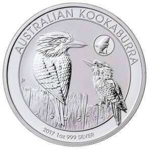 1 oz Australian Silver Kookaburra 2017