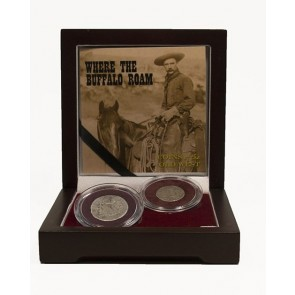 Where the Buffalo Roam: Coins of the Old West (2-Coin Box)