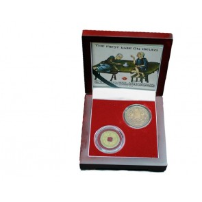 """The First """"War on Drugs"""": Great Britain, China, and the Opium War, A 2 Coin Box"""