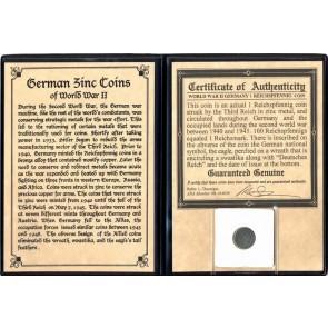 Nazi Germany: Reichpfennig Coin Album (C)
