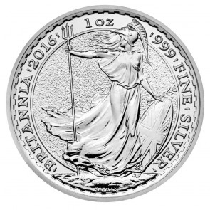 1 oz Silver Britannia BU (10 Round Minimum)