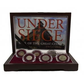 Under Siege: Sack of the Great Cities Six Coin Collection
