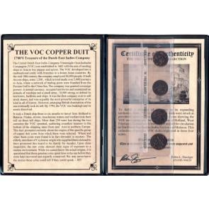 VOC Dutch East Indies Co. Copper Duits Album