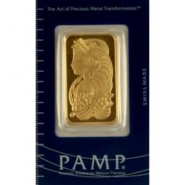 1 oz PAMP Suisse Fortuna Gold Bar