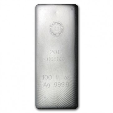 Silver bars in stock.  Buy your Silver Bars today @ US Gold Firm.  www.usgoldfirm.com This 100 oz. silver bar is minted by the Royal Canadian Mint, one of the most well respected mints in the world. Minted from four-nine (.9999) fine silver, it is the pur