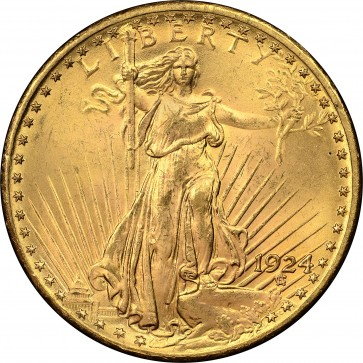 $20 Saint-Gaudens Double Eagle (BU) - Assorted Dates
