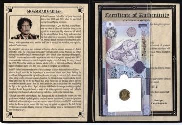 Libyan Dictator Moammar Gadhafi Album