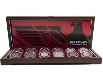 Nazi Germany: A Boxed Collection of 12 Coins
