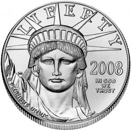 American Platinum Eagle 1 Troy oz - Call for pricing!