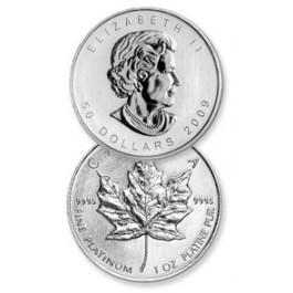 1 oz Platinum Canadian Maple