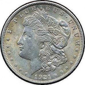 Morgan Silver Dollar - Common Date
