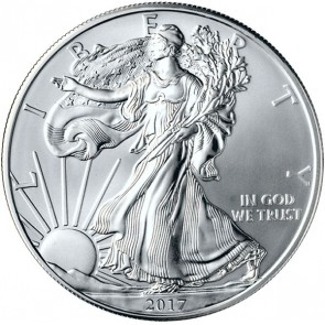 1 oz American Silver Eagle - 10 Round Minimum