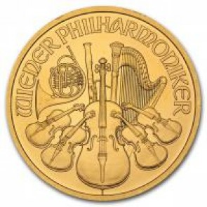 Austrian Gold Philharmonic 1 oz Coin - Call for pricing!