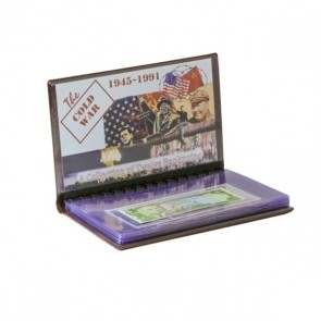 Cold War 12 Banknote Collection Folio