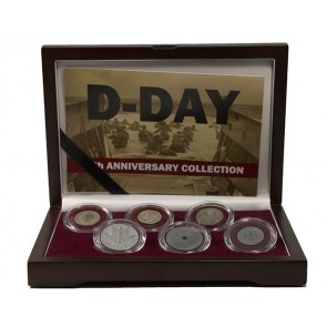 D-Day: 75th Anniversary Collection (Six Coin Boxed Set)