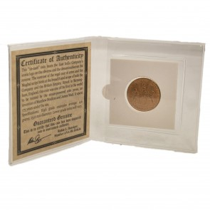 Admiral Gardner Shipwreck Treasure Coin Mini Album (Medium Grade)