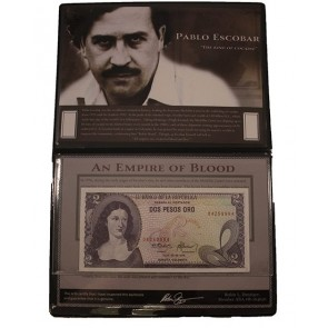 Pablo Escobar: The King of Cocaine (Banknote Album)