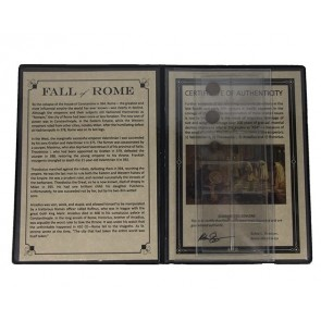 """Fall of Rome Album: Four """"AE4"""" Coins of the Late Roman Empire"""