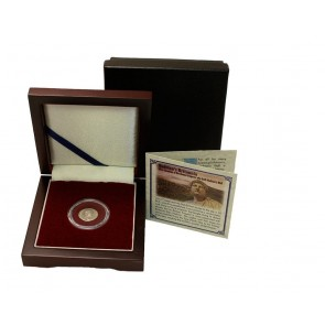 Hadrian's Britannia Box: Silver Denarius of the Roman Emperor who Built Hadrian's Wall