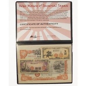 War Money of Imperial Japan Album