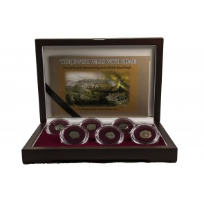 The Jewish Wars with Rome: A Box of 6 Ancient Bronze Roman and Judaean Coins