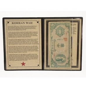 Korean War Banknote Album