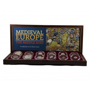 Medieval Europe: A Collection of 12 Silver Coins (2018 Edition)