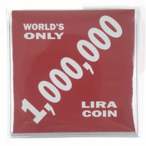 World's Only 1,000,000 Lira Coin (Mini Album)