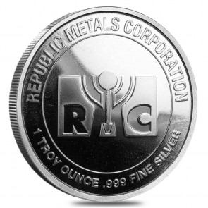 1 oz Silver Round - Our Choice (20 Round Per Tube)