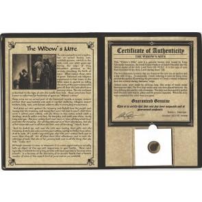 Widow's Mite Bronze Lepton Album