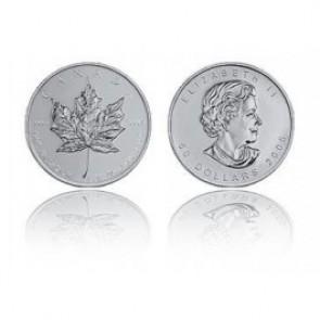 Palladium Maple Leaf - 1 Troy oz (Random Year) - Call for pricing!
