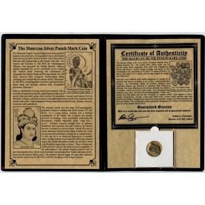 Mauryan Silver Punch Mark Coin Album