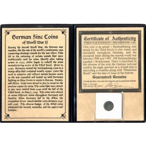 Nazi Germany: Reichpfennig Coin Album (C)