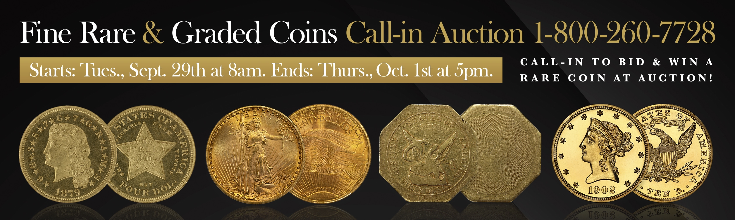 Call-In Coin Auction